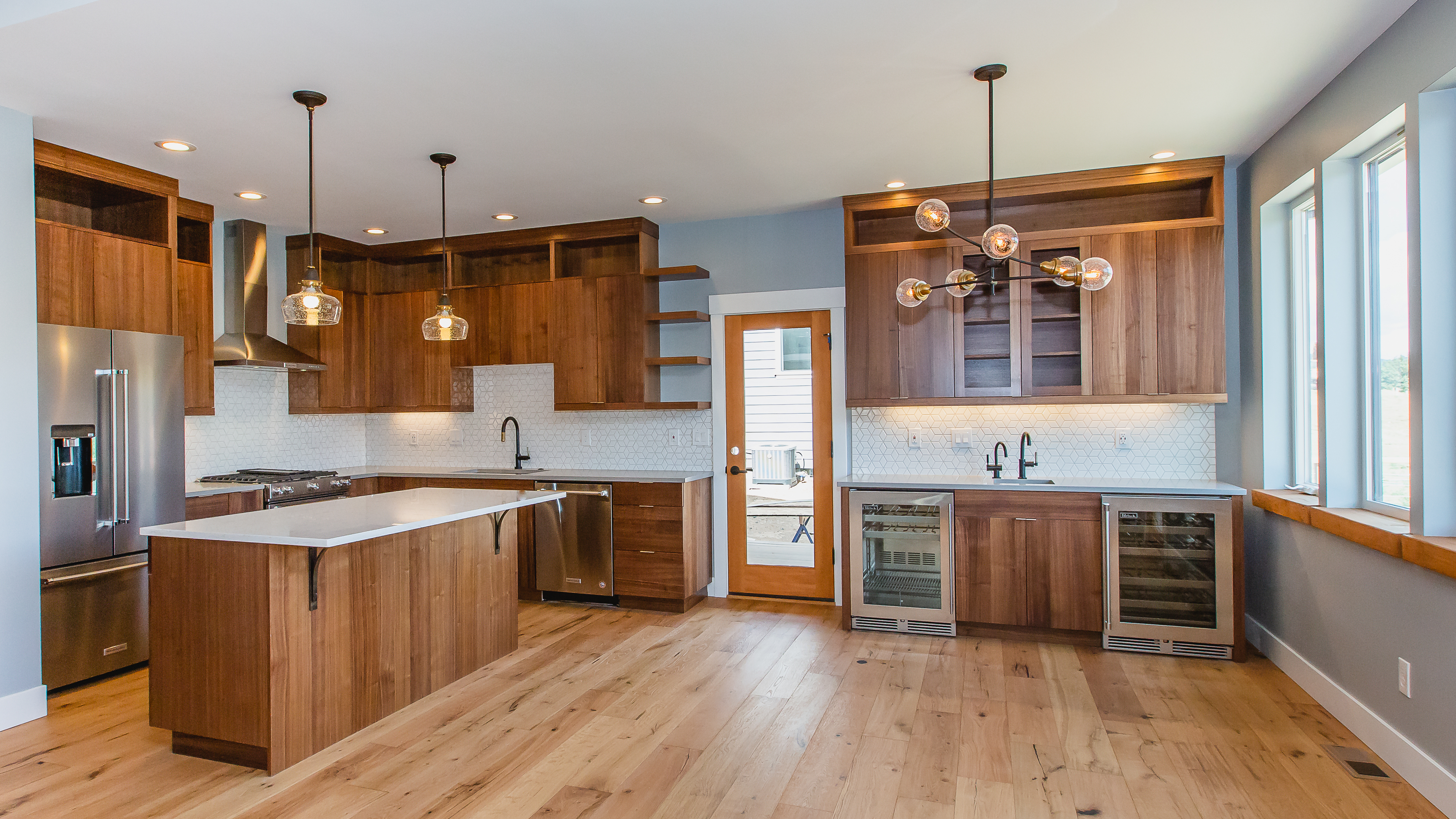 Kitchen by Curtis Homes