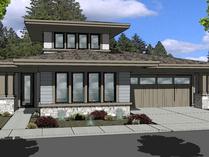 ClearPine Lot 40-Color Rendering